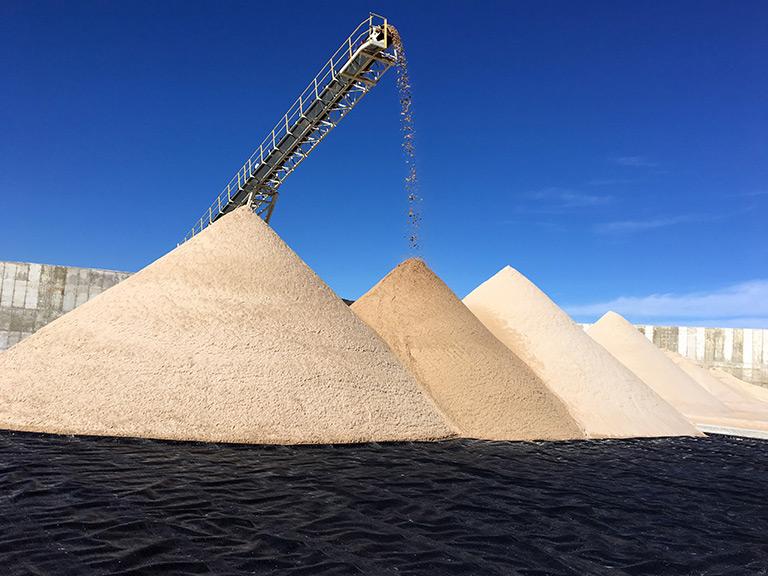 Frac Sand WIP Drain